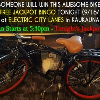 Bike Will Be Given Away During Bingo!