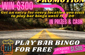 Road Trip Bar Bingo Promotion